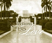 Image of Reflections Of His Love: Laie Hawaii LDS Mormon Temple Art