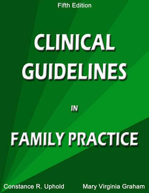 Image of Clinical Guidelines in Family Practice, Fifth Edition (2013) (Rem.)