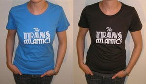 Image of Womens Logo Tee - Blue or Brown.