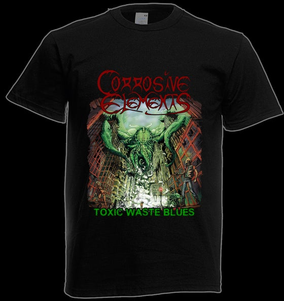 Image of Toxic Waste Blues t-shirt