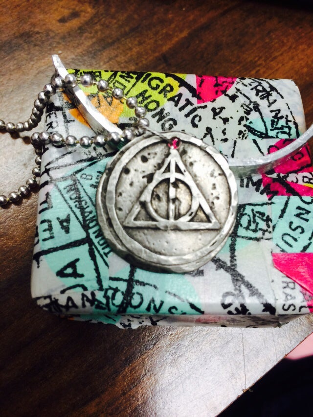 Image of Deathly Hallows Necklace