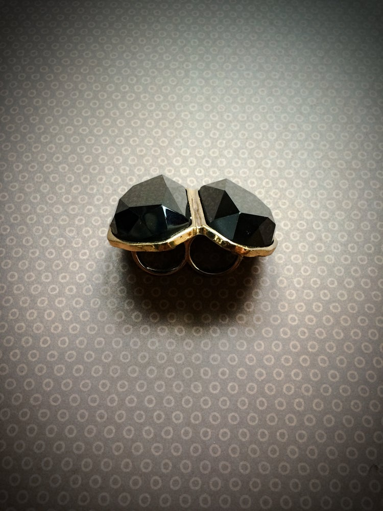 Image of Irene Chunky Double Ring