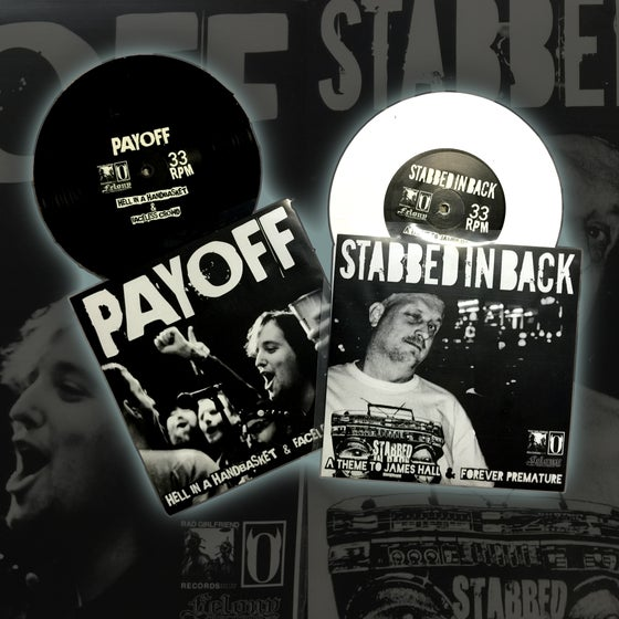 Image of Payoff | Stabbed In Back Split 7""