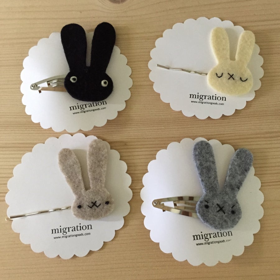 Image of bunneh clips + bobby pins