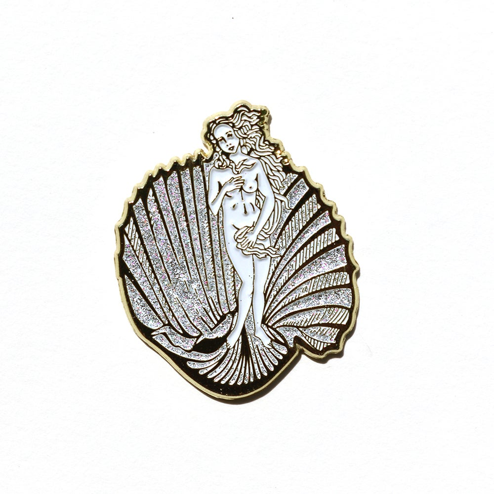 Image of Birth of Venus Enamel Pin