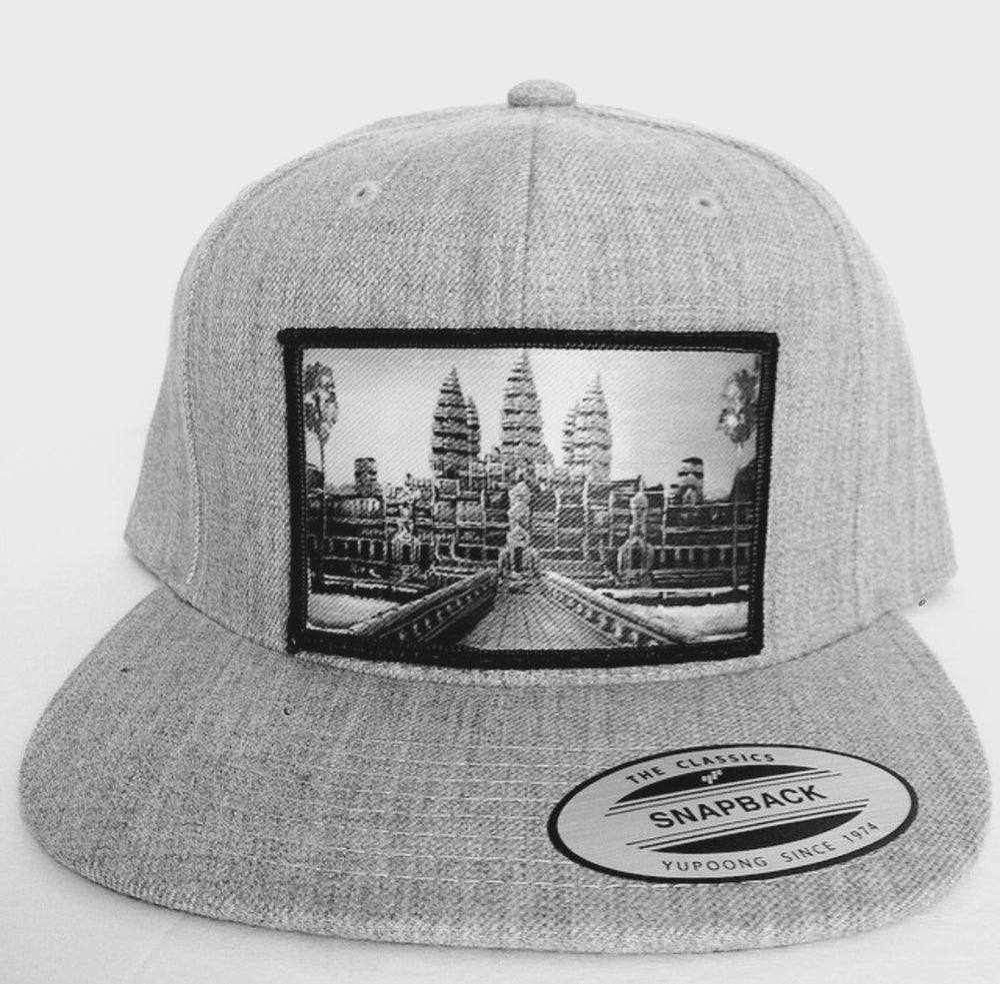 Image of Vintage Angkor Wat Patch Snapback