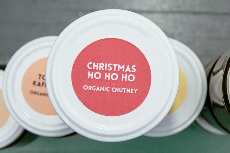 Image of organic christmas + ho ho ho