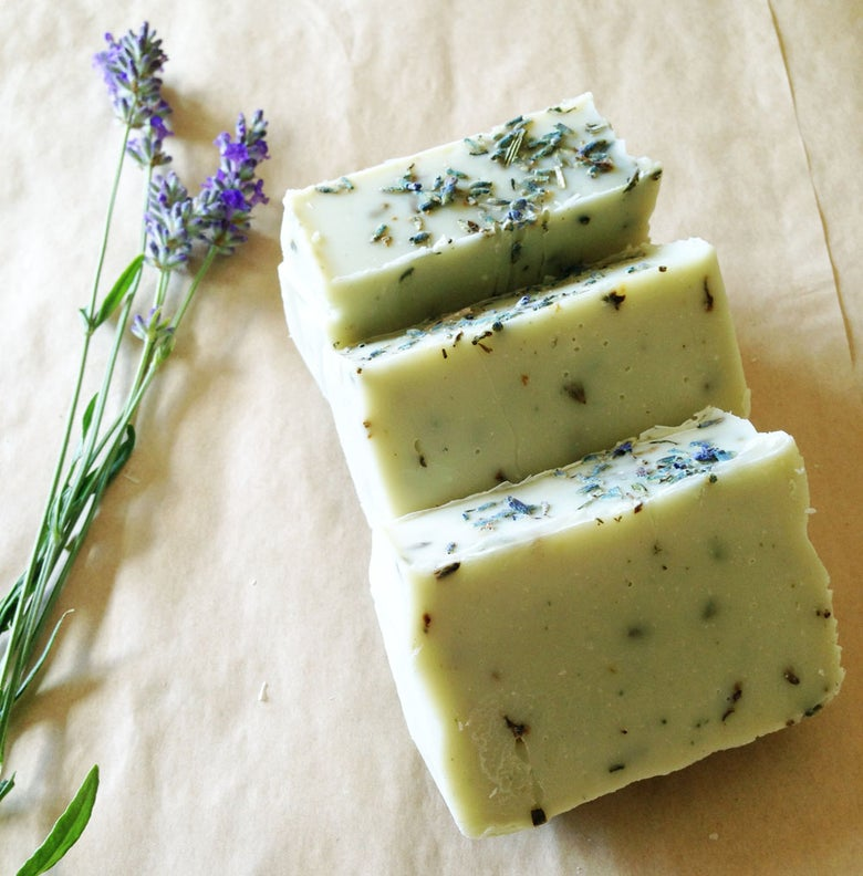Image of Green Clay Lavender Soap