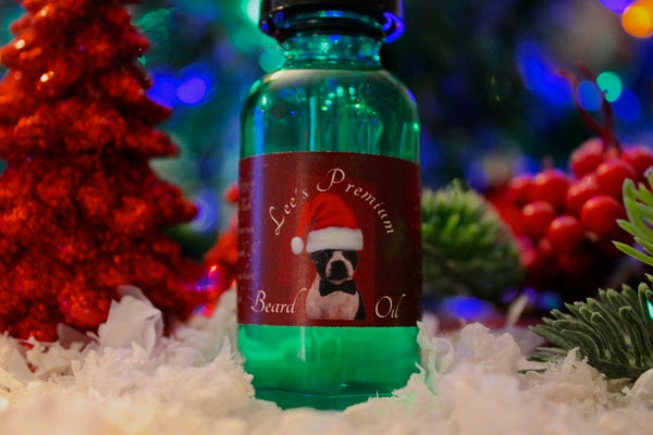 Image of Lee's Premium Beard Oil - 'Tis The Season