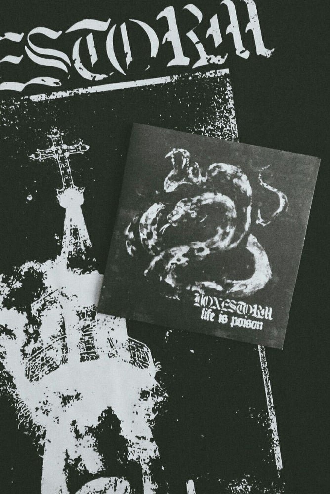 Image of ''Greed'' T-Shirt + ''Life Is Poison'' (CD)