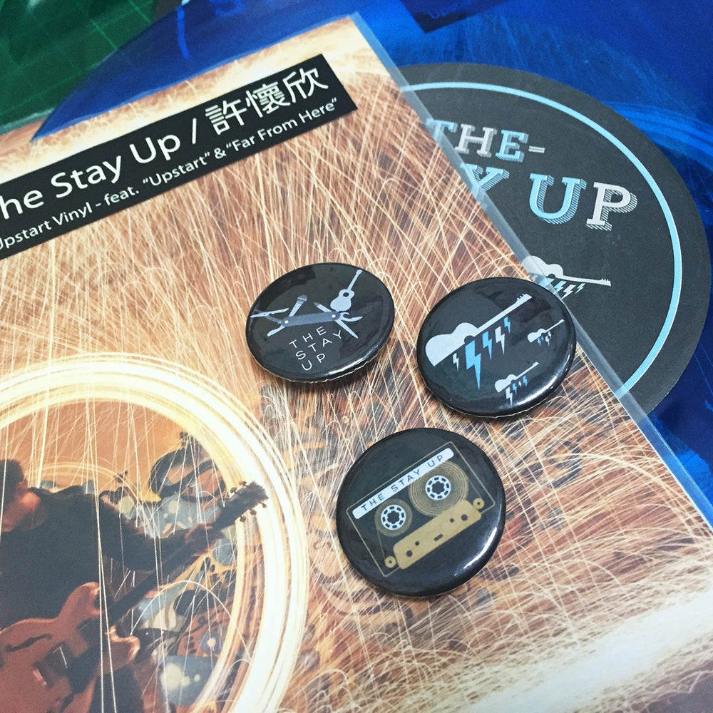 Image of The Stay Up - 3 Pin Set
