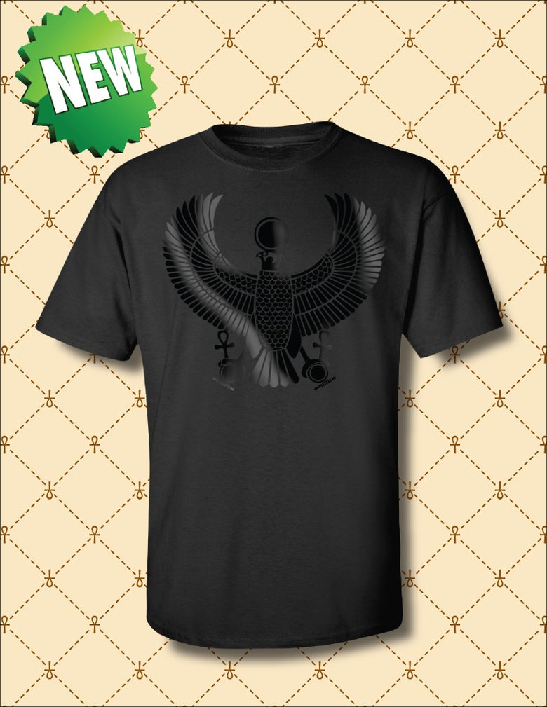Image of MEN'S BLACK FOIL HRU TSHIRT