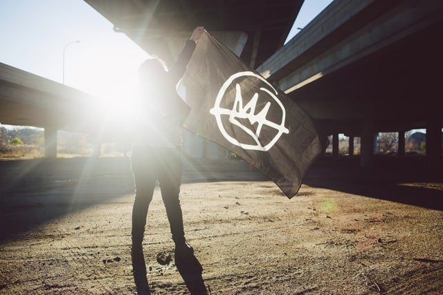 "Image of Doomtree ""No Kings"" Flag"