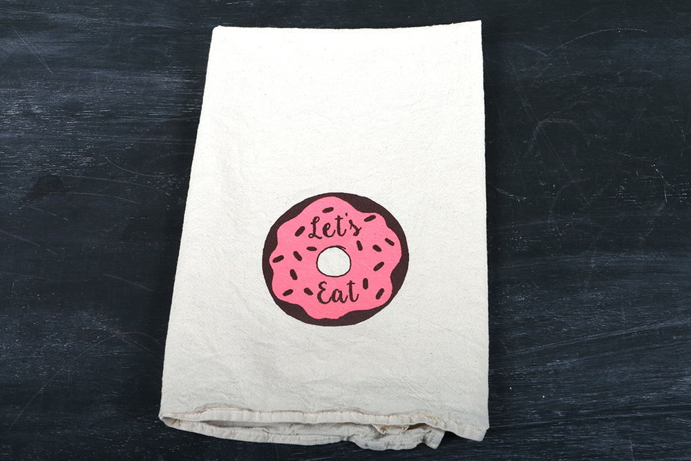 Image of Let's Eat, Tea Towel