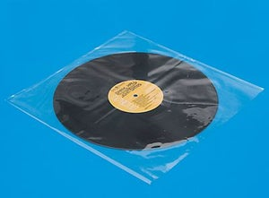 Image of Pack of 25 3 mil Vinyl Record Sleeves 33 1/3 Archival