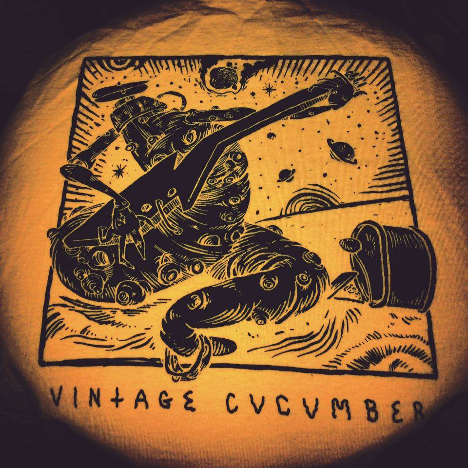 Image of Cucumber Space Dance T-Shirt Yellow
