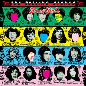 Image of The Rolling Stones - Some Girls Vintage Vinyl Album