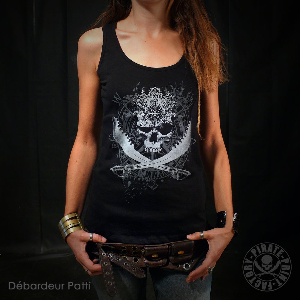 Image of DEBARDEUR PATTI ANTIK JOLLY ROGER GIRLY
