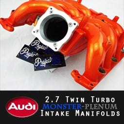 "Image of PROJECT:B5 - AUDI 2.7TT ""MONSTER PLENUM"" Intake Manifold"