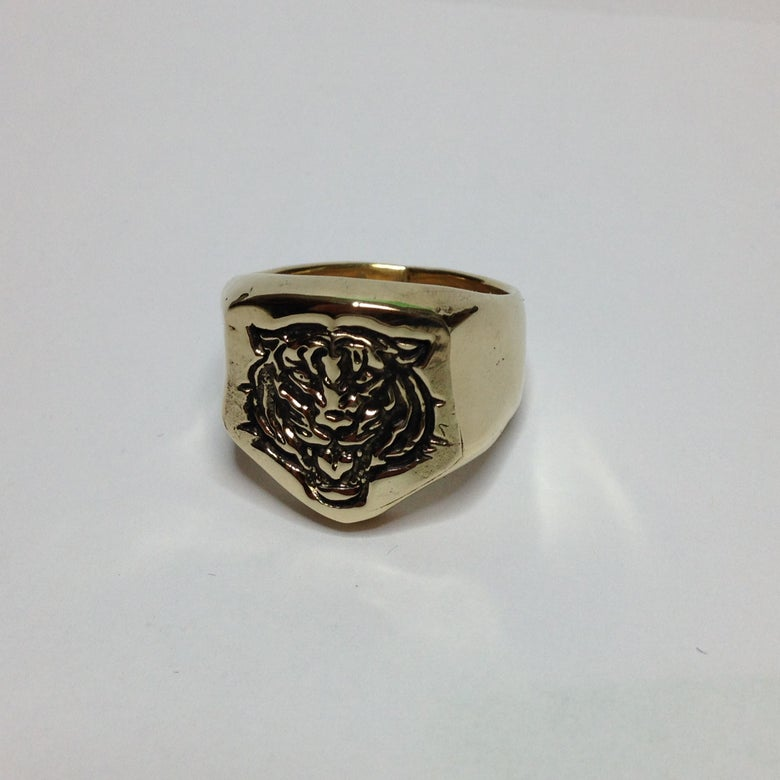 Image of Bronze Tiger Ring