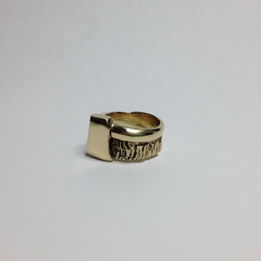 Image of Bronze Axe Ring