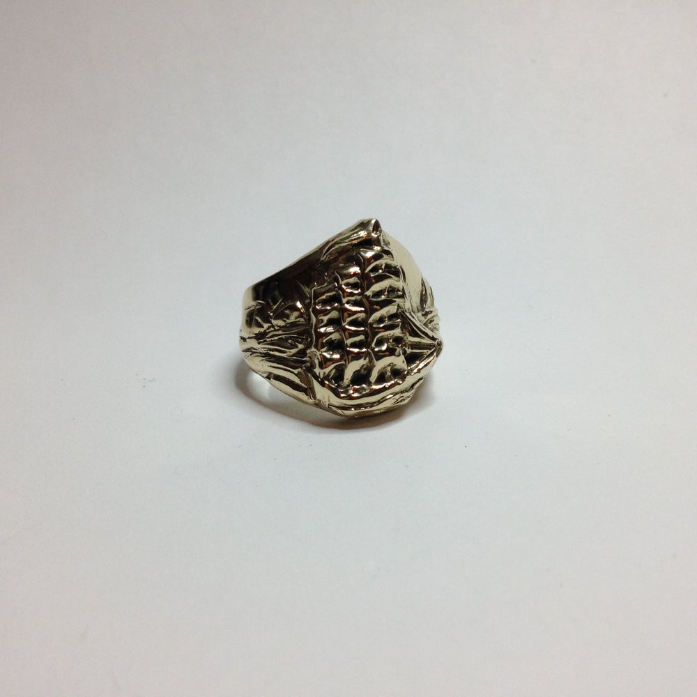Image of Bronze Ship Ring