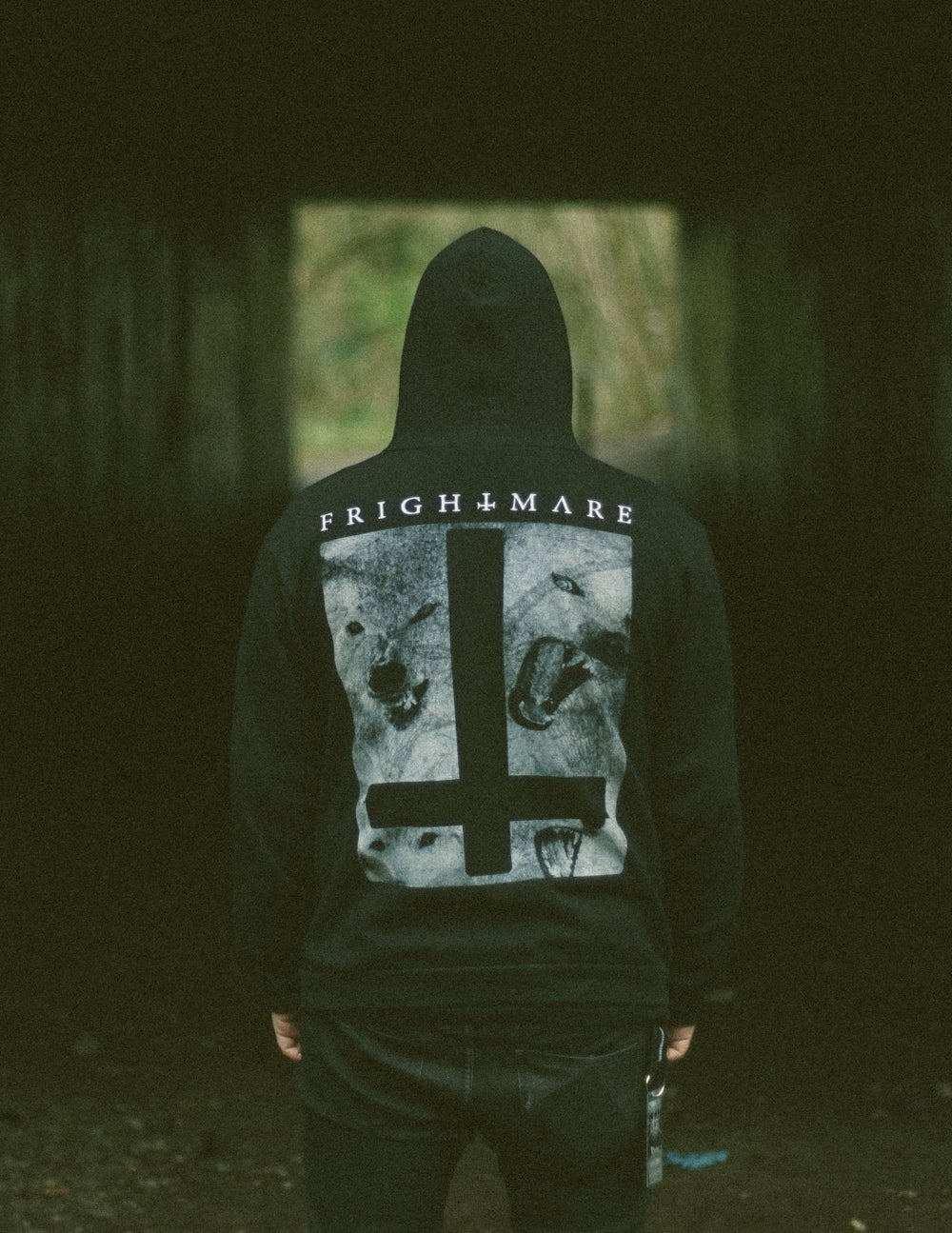 Image of CROSS ZIP HOODIE