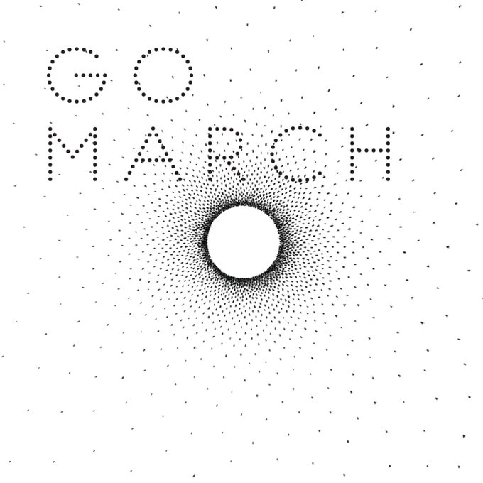 Image of GO MARCH LP (Black vinyl 180g)