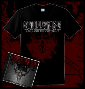 Image of Arms and the Covenant - T-Shirt and CD Bundle