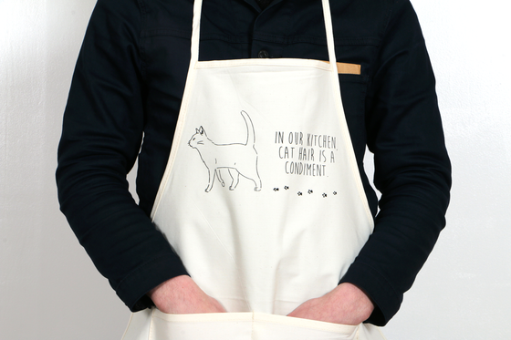 Image of Cat Hair Condiment Apron