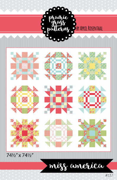 Image of Miss America: PAPER Quilting Pattern #137