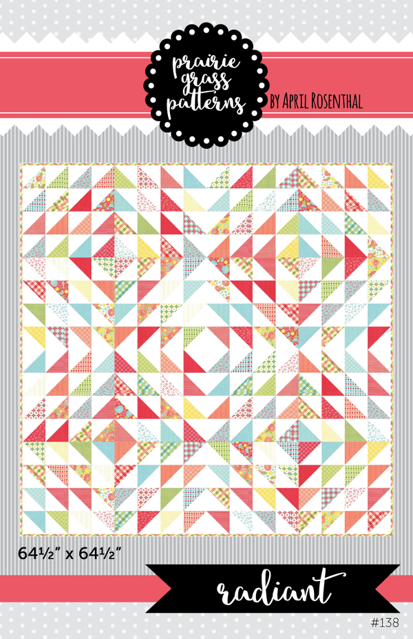 Image of Radiant: PAPER Quilting Pattern #138