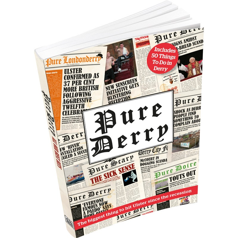 Image of Pure Derry Book (Signed)