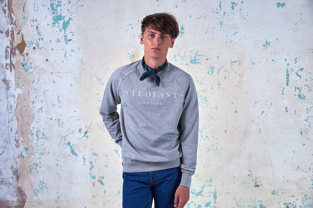 Image of Stedfast London Grey Sweatshirt