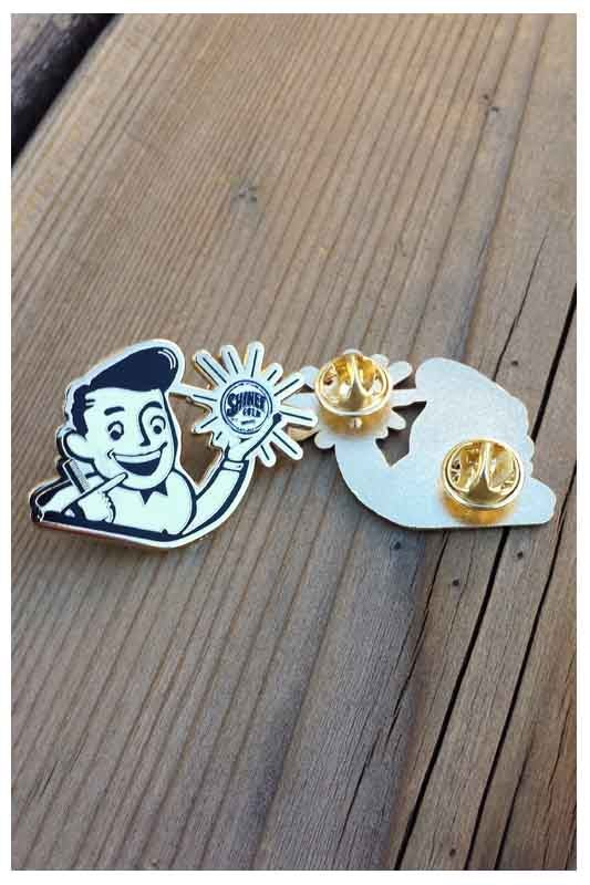 Image of SHINER GOLD COLLECTOR PIN