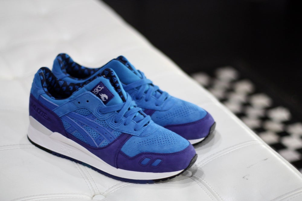 "Image of ASICS GEL LYTE III X HANON ""lyte night"""