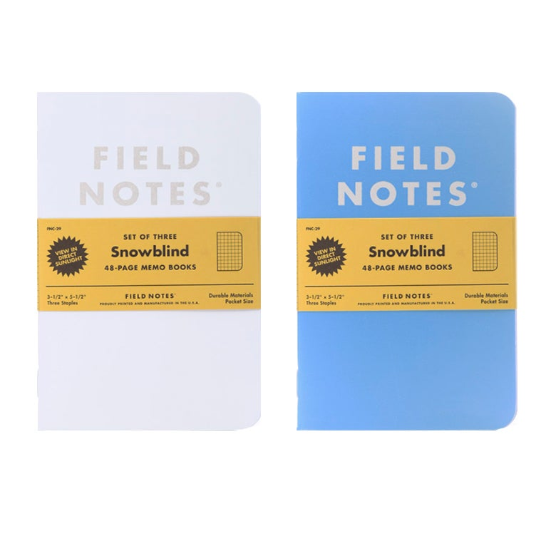 Image of Field Notes - Snowblind