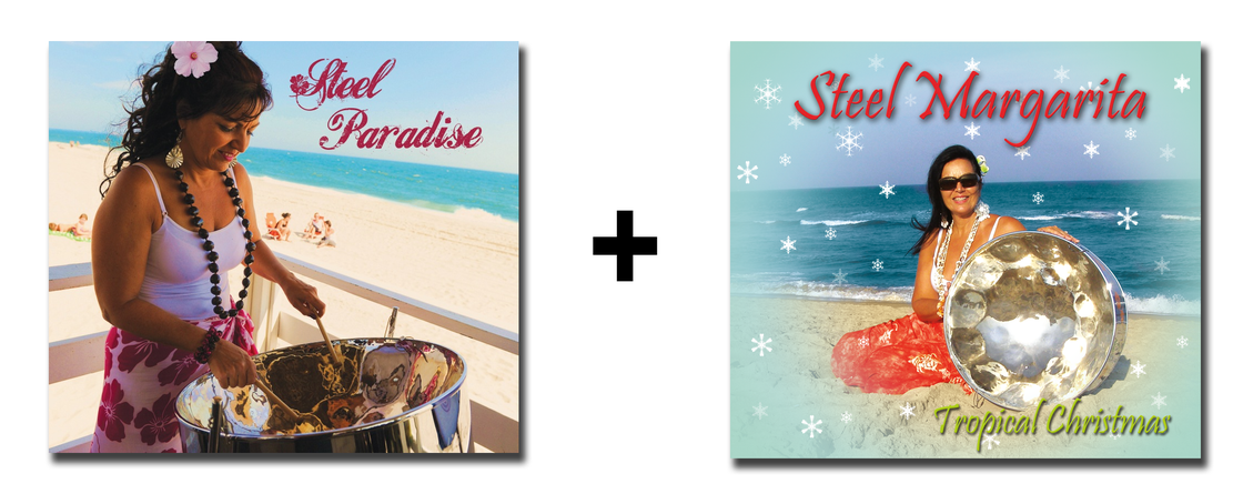 Image of Steel Paradise & Tropical Christmas  (2 CD Pack)