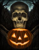 """Image of All Hallow's Eve- Canvas Giclee 11x14"""""""
