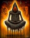 "Ego Death- Canvas Giclee 11x14"""