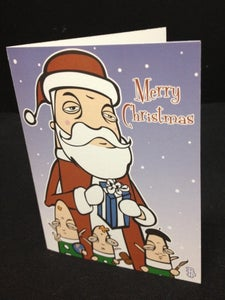 Image of Santa's Helpers - Limited Edition Christmas Cards 4pack