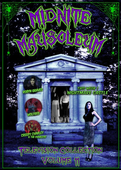 Image of *NEW* MIDNITE MAUSOLEUM TV Collection #11 DVD