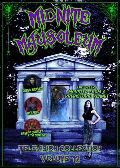 Image of *NEW* MIDNITE MAUSOLEUM TV Collection #12 DVD