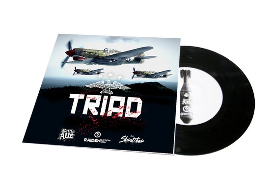 "Image of TRIAD BREAKS 7"" SCRATCH RECORD (NEW COVER)"
