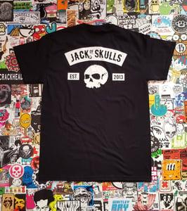 """Image of """"Ninth Skull"""" Tee - Black"""