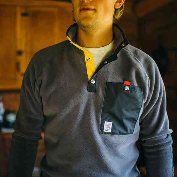 Image of Topo Designs Fleece Jacket