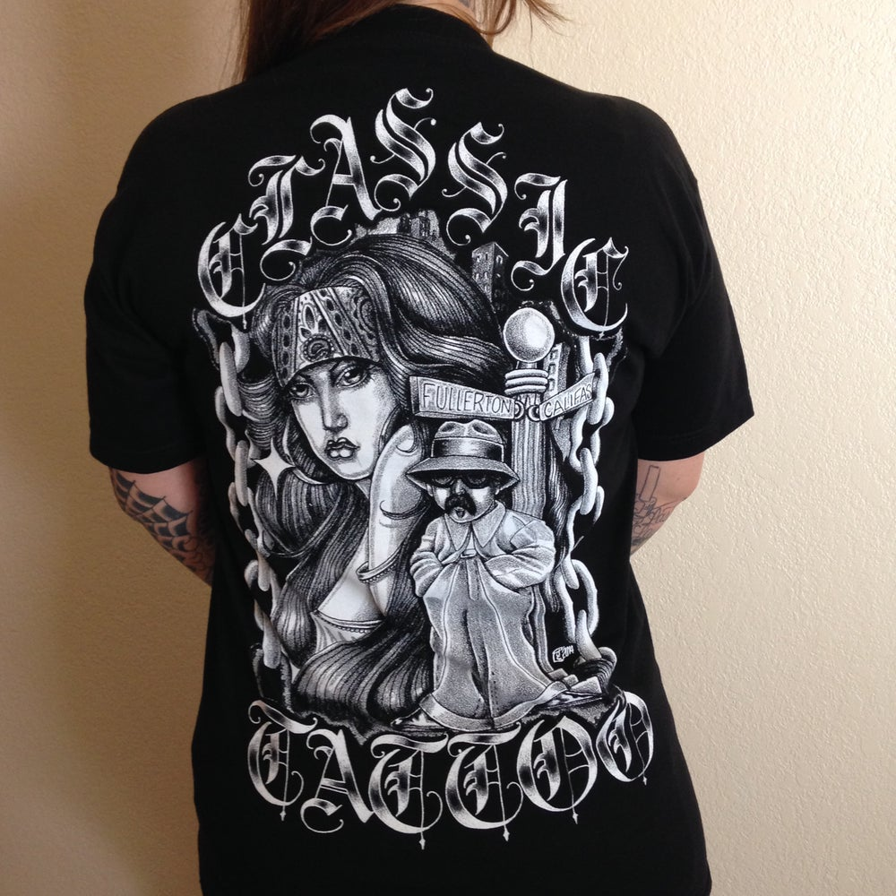 Image of Black Classic Tattoo T-Shirt