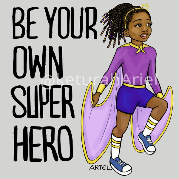 Image of Superhero Girl