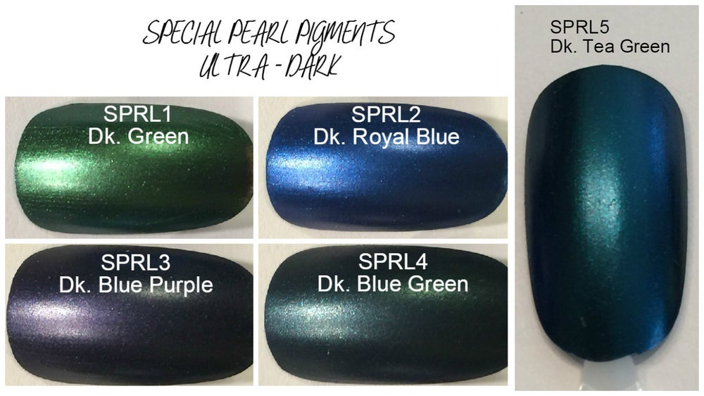 Image of Ultra Dark Pearl Pigments </p> 5 Colors Available