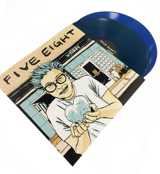 "Image of ""Weirdo"" 2LP Vinyl - Blue or 180g Black"